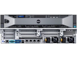 Server dell R730 E5 2683v3 X 2 RAM 16GB SAS 300GB X 1 RAID H330 8X2.5""